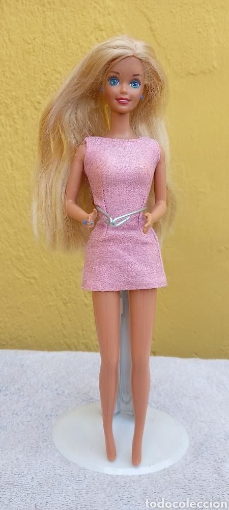 Barbie y Ken: MUÑECA BARBIE MATTEL 1976 CABELLO RAYA AL LADO - Foto 6 - 284152648