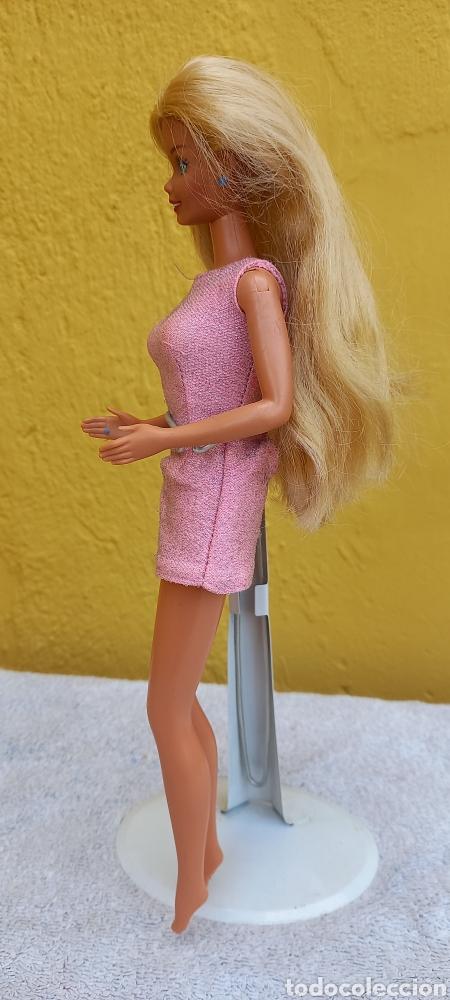 Barbie y Ken: MUÑECA BARBIE MATTEL 1976 CABELLO RAYA AL LADO - Foto 9 - 284152648