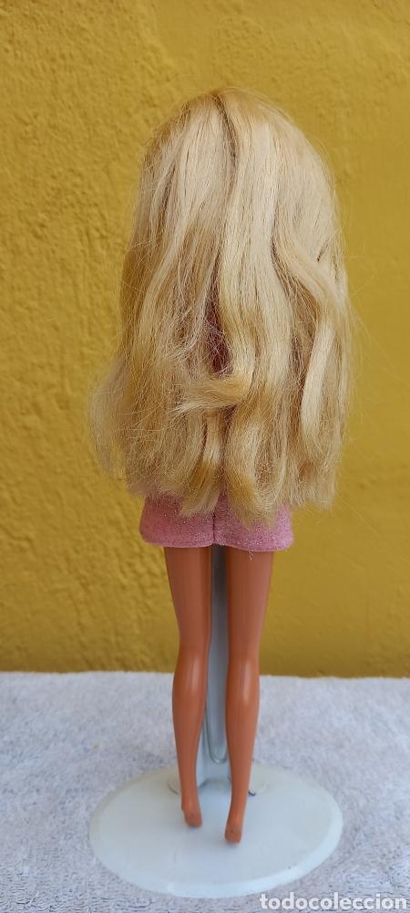 Barbie y Ken: MUÑECA BARBIE MATTEL 1976 CABELLO RAYA AL LADO - Foto 10 - 284152648