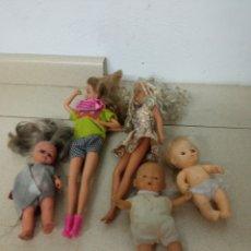 Barbie y Ken: LOTE BARBIES AÑOS 90 Y OTROS. Lote 287121028