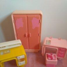 Barbie y Ken: LOTE MUEBLES BARBIE AÑOS 70 SUPERSTAR VINTAGE. Lote 287799858