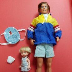 Barbie y Ken: KEN Y SU HERMANO TOMMY 1996. Lote 295463553