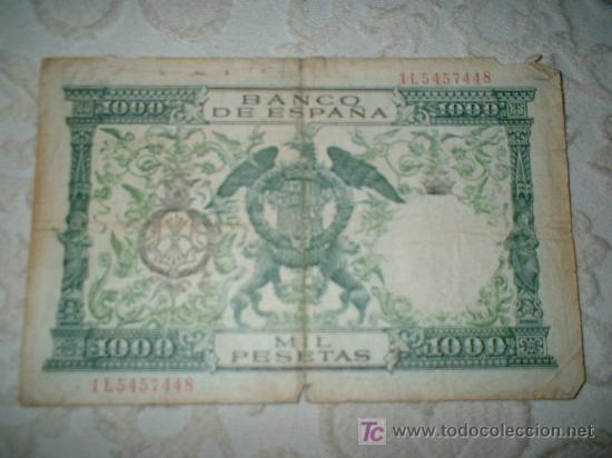 Billetes con errores: billete falso de epoca - Foto 2 - 17806326