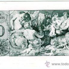 Billetes con errores: TEN TALENTS PRUEBA IMPRENTA THOMAS DE LA RUE & CO LONDON PLANCHA.. Lote 27349071
