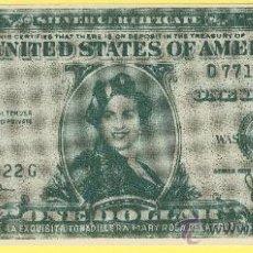 Billetes con errores: BILLETE HUMOR PUBLICIDAD CINE MARY ROSA DE LA CRUZ -PLANCHA- VER ESTADO FOTO ADJUNTA-. Lote 25922106