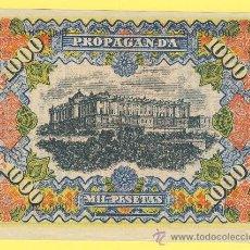 Billetes con errores: BILLETE HUMOR PUBLICIDAD -MIL PESETAS JABON CHIMBO-1940 ?- VER ESTADO FOTO ADJUNTA-. Lote 25922954