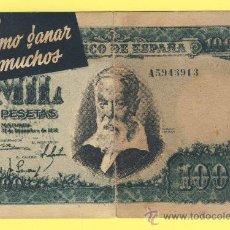 Billetes con errores: BILLETE HUMOR PUBLICIDAD -MIL PESETAS VITOS -VER ESTADO FOTO ADJUNTA . Lote 25923118