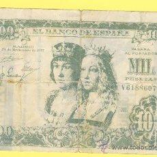 Billetes con errores: BILLETE HUMOR PUBLICIDAD -VESPA MONTALT 1000 PESETAS-VER ESTADO FOTO ADJUNTA . Lote 25923553
