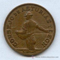Billetes con errores: CONSEJO DE ASTURIAS Y LEON 1 PESETA AÑO 1937, MUY ESCASA Y MUY BONITA (MAS EN MANO QUE EN LA FOTO). Lote 28597906