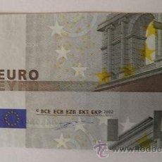 Billetes con errores: BILLETE DE 5 EUROS DEFECTUOSO. Lote 35490457