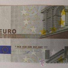 Billetes con errores: BILLETE DE 5 EUROS DEFECTUOSO. Lote 35490457