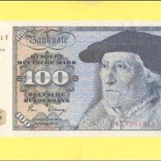 Billetes con errores: BILLETE HUMOR PUBLICIDAD - HUNDERT DEUCHE MARK 100 1980 - GRAN FORMATO VER FOTO ADJUNTA -. Lote 25929367