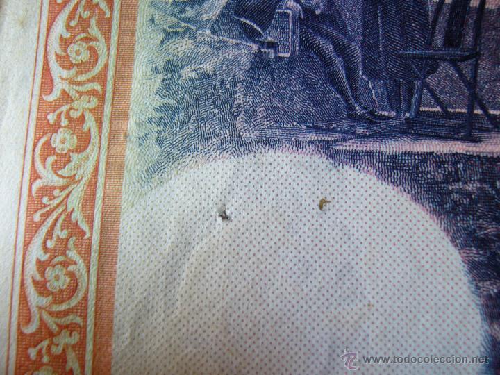 Billetes con errores: 4 billetes 100 pesetas 1925 con error firma cajero, mismo pliego, 2 correlativos. Error - Foto 2 - 45147571