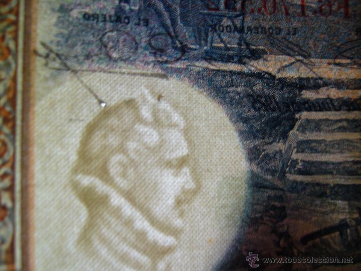 Billetes con errores: 4 billetes 100 pesetas 1925 con error firma cajero, mismo pliego, 2 correlativos. Error - Foto 3 - 45147571