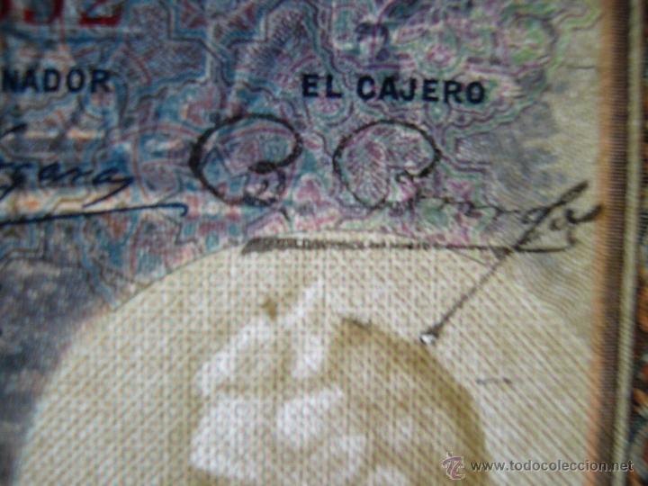 Billetes con errores: 4 billetes 100 pesetas 1925 con error firma cajero, mismo pliego, 2 correlativos. Error - Foto 4 - 45147571
