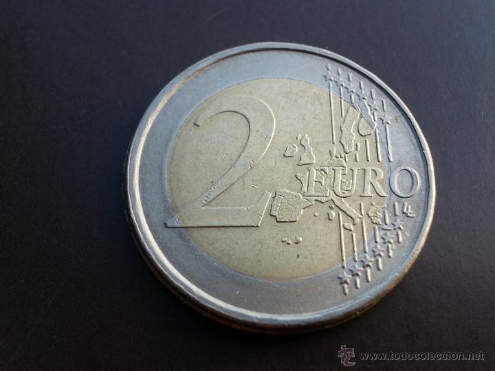 Billetes con errores: ## errores y variantes ## 2 Euro Alemania 2002 F- Acuñacion Desplazada ## - Foto 2 - 51653148