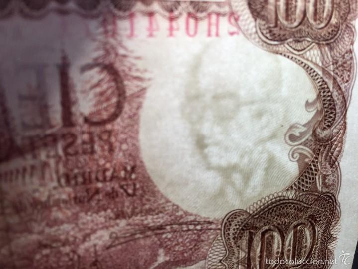 Billetes con errores: Billete ERROR 100 pesetas de 1970. - Foto 4 - 57866232