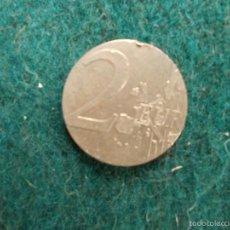 Banconote con errori: CENTRO DE UNA MONEDA DE 2 EUROS. Lote 58577699