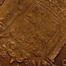 Billetes con errores: MONEDA DE 2,50 PESETAS, 1953 *56 CON PEQUEÑA ROTURA COSPEL DIAGONAL REVERSO (REF.139). Lote 82912196