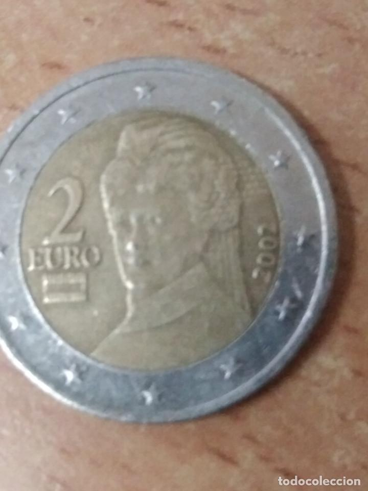 Billetes con errores: dos euros austria 2002 con error - Foto 2 - 93729590