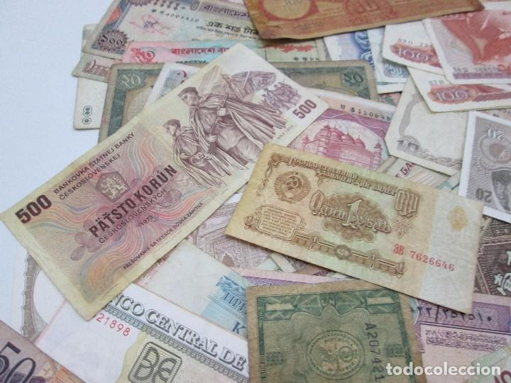 Billetes con errores: A-264 / LOTE 160 BILLETES MUNDIALES - HAY DE MUY RAROS! - CIRCULADOS - DISTINTOS - Foto 2 - 96482231