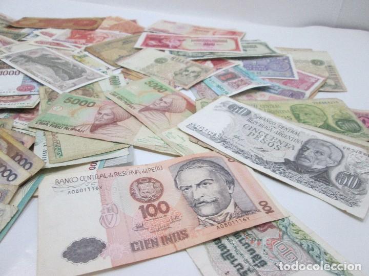 Billetes con errores: A-264 / LOTE 160 BILLETES MUNDIALES - HAY DE MUY RAROS! - CIRCULADOS - DISTINTOS - Foto 5 - 96482231