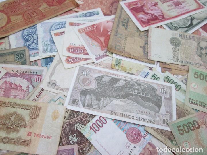 Billetes con errores: A-264 / LOTE 160 BILLETES MUNDIALES - HAY DE MUY RAROS! - CIRCULADOS - DISTINTOS - Foto 7 - 96482231