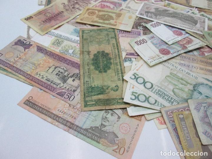 Billetes con errores: A-264 / LOTE 160 BILLETES MUNDIALES - HAY DE MUY RAROS! - CIRCULADOS - DISTINTOS - Foto 8 - 96482231