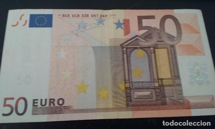 Billetes con errores: error billete 50 euros rareza unico cifras pliego? bajo el 50 - Foto 4 - 118143983