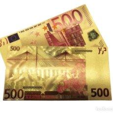 Billetes con errores: BILLETE DE 500€ BONITO ARTÍCULO DE COLECCIÓN TOTALMENTE NUEVO. Lote 140161473