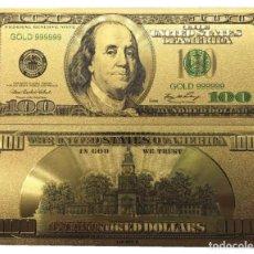 Billetes con errores: BILLETE DE 100,00 DOLARES BONITO ARTÍCULO DE COLECCIÓN TOTALMENTE NUEVO. Lote 119488527