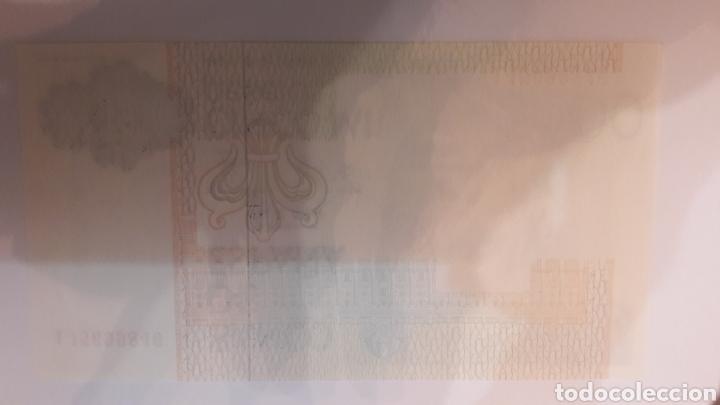 BILETE FALTA IMPRESION DORSO 5000 PTAS 1978 PLANCHA 1J5699846 (Numismática - Notafilia - Variedades y Errores)