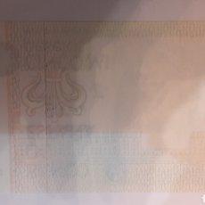 Billetes con errores: BILETE FALTA IMPRESION DORSO 5000 PTAS 1978 PLANCHA 1J5699846. Lote 122252302
