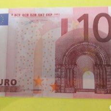 Billetes con errores: ERROR ESPAÑA 2002 DUISENBERG BILLETES CON DOS ERRORES BANDA INCOMPLETA SOBREIMPRESION REVERSO. Lote 127223800