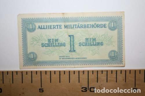 RARISIMO BILLETE DE LOS ALIADOS. SEGUNDA GUERRA MUNDIAL. (Numismática - Notafilia - Variedades y Errores)