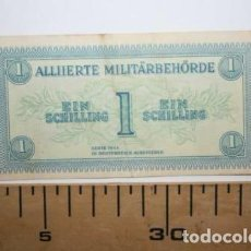 Billetes con errores: RARISIMO BILLETE DE LOS ALIADOS. SEGUNDA GUERRA MUNDIAL.. Lote 127599303