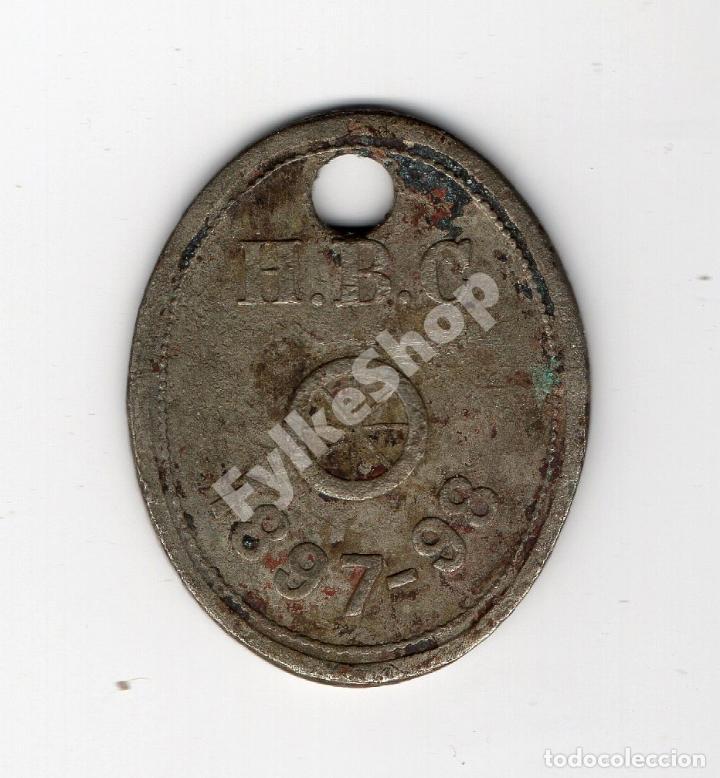 H.B.C TOKEN. HUDSON BAY COMPANY. CANADÁ. C. 1850. MARCHAMO. INDUSTRIAL TOKEN. (Numismática - Notafilia - Variedades y Errores)