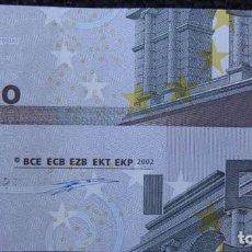Billetes con errores: ALEMANIA--5 EUROS 2002 FIRMA DUISENBERG-SIN CIRCULAR--ERROR--MAL CORTADO Y CON DOS DIFERENTES SERIES. Lote 142636990
