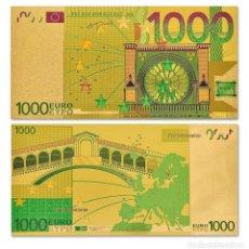Billetes con errores: BILLETE DE 1000€ BONITO ARTÍCULO DE COLECCIÓN TOTALMENTE NUEVO. Lote 255663850