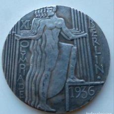 Billetes con errores: ESPECTACULAR MONEDA OLIMPIADAS DE BERLÍN 1936. Lote 146489986