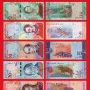 Billetes con errores: VENEZUELA COMPLETA 2 5 10 20 50 100 200 Y 500 BOLIVARES SOBERANOS 2018 SC UNC . Lote 160665072