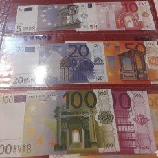 Billetes con errores: BILLETES EURO FASCIMEL EUROOEAN MONETARY INTITUTE 1997. Lote 156533241