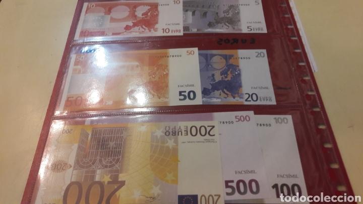 Billetes con errores: Billetes Euro fascimel Eurooean Monetary Intitute 1997 - Foto 2 - 156533241