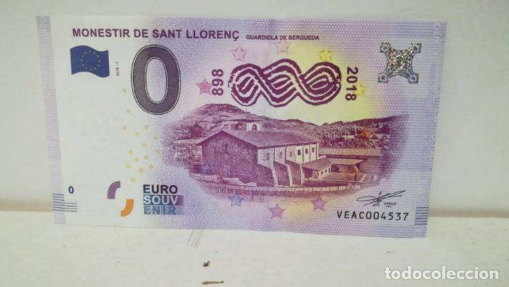 BILLETE DE 0 EUROS (Numismática - Notafilia - Variedades y Errores)