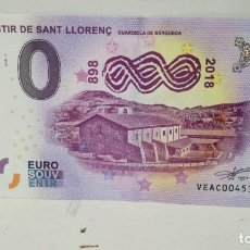 Billetes con errores: BILLETE DE 0 EUROS . Lote 156896638