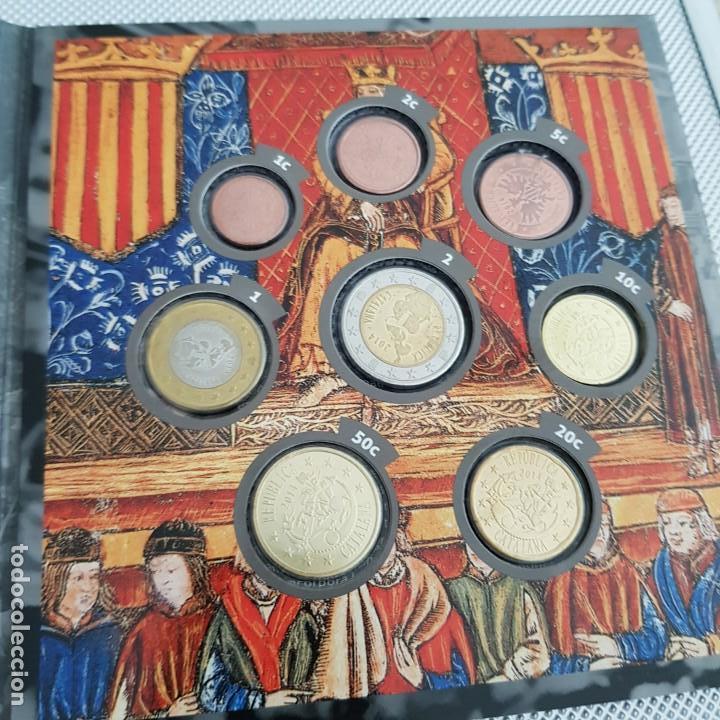 Billetes con errores: Prueba numismatica 2014 set monedas Catalunya republica catalana - Foto 2 - 160492686