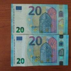 Billetes con errores: BILLETE DE 20 € CON (GRAVE ERROR DE IMPRESIÓN ) BORDES DIFERENTES DRAGU AÑO 2015 . MÁS EN MÍ PERFIL.. Lote 174083117