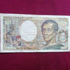 Billets avec erreurs: FRANCIA BILLETE DE 200 FRANCOS DE 1992. Lote 177730578