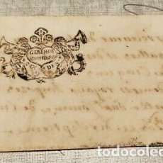 Billetes con errores: RARO BILLETE DOCUMENTO DE PAGO FRANCIA NAPOLEON.. Lote 178289426