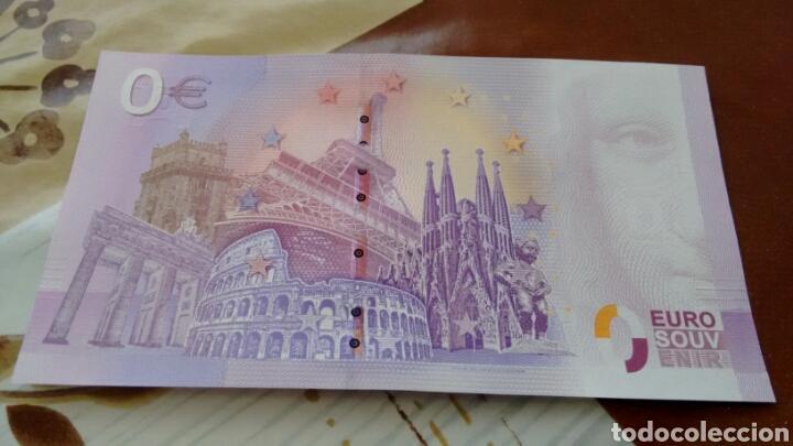 Billetes con errores: Billete 0 euros catedral de Burgos sin circular - Foto 2 - 178878280